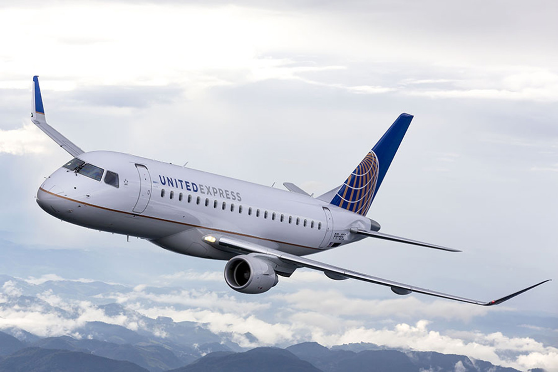SkyWest Airlines, operating as United Express, will fly the new generation Embraer 170 70-passenger jet once daily between Yampa Valley Regional Airport and Denver International April 5 through May 4.