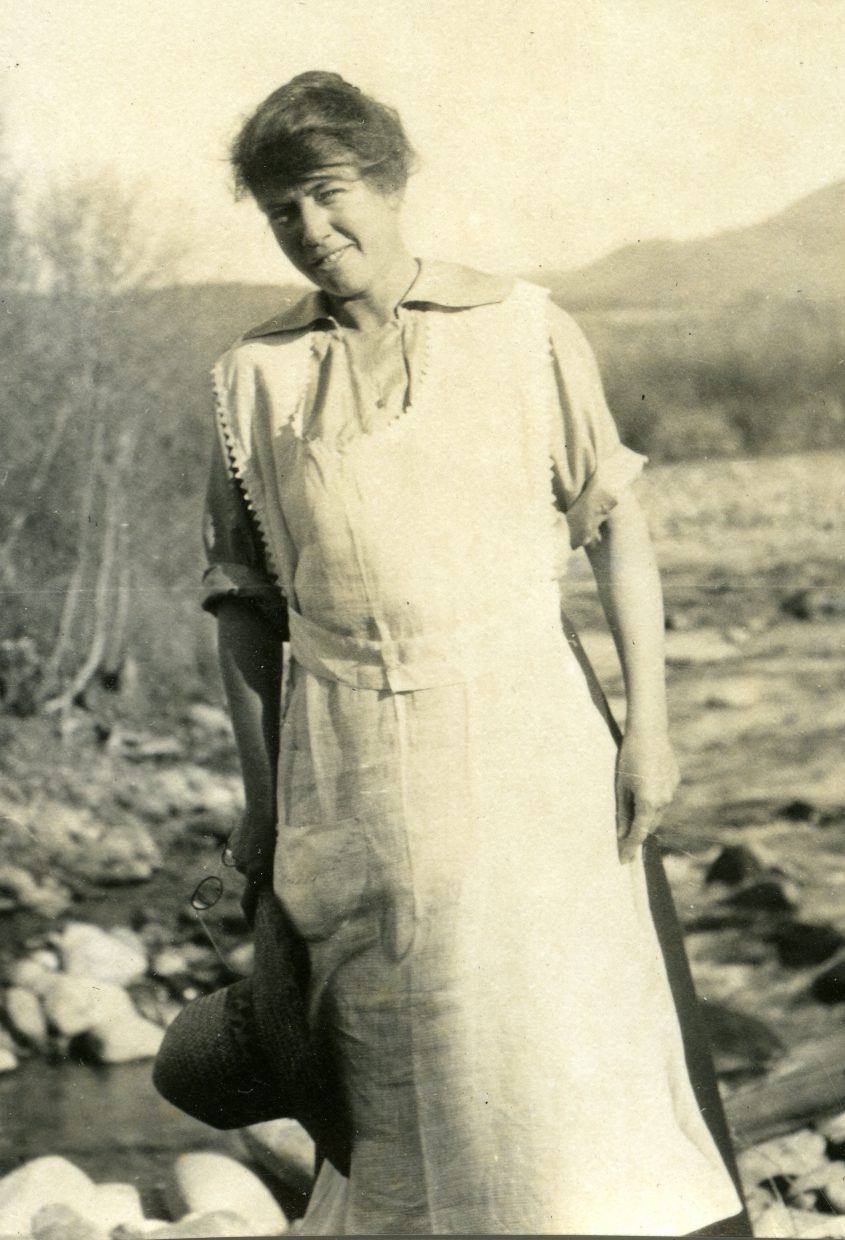 At noon and 5:30 p.m. Friday, the Tread of Pioneers Museum will host Mary Walker, Margaret Duncan Brown's descendant, shown, for a presentation on the life and diaries of this tenacious rancher.