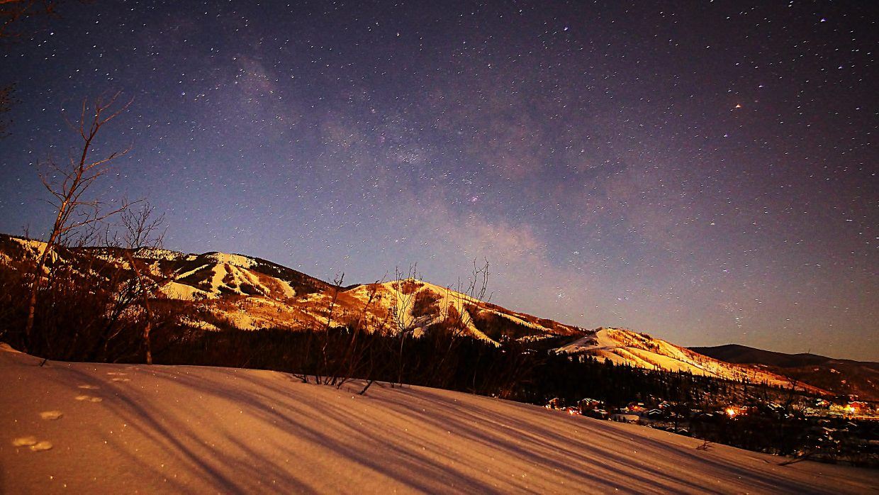 Steamboat Moon Shadows. Submitted by Matt Helm.