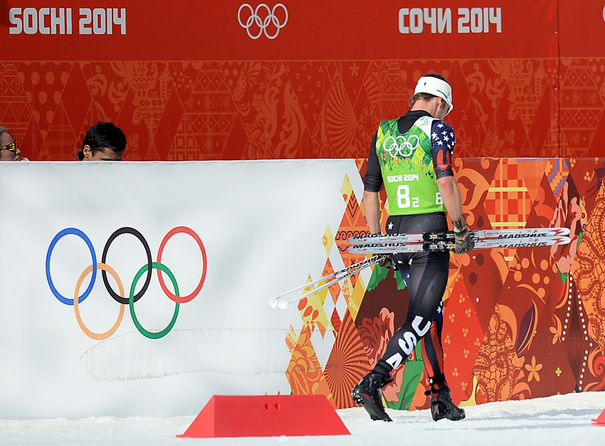 Six-time Winter Olympian and 2010 silver medalist Todd Lodwick walks away from his final Nordic combined race Thursday after completing the second leg of the men's Nordic combined team relay event. The United States finished sixth in the competition. After more than two decades on the World Cup circuit and 24 years after he made his first Olympics, the Steamboat Springs skier and two-time World Champion retired from his sport.