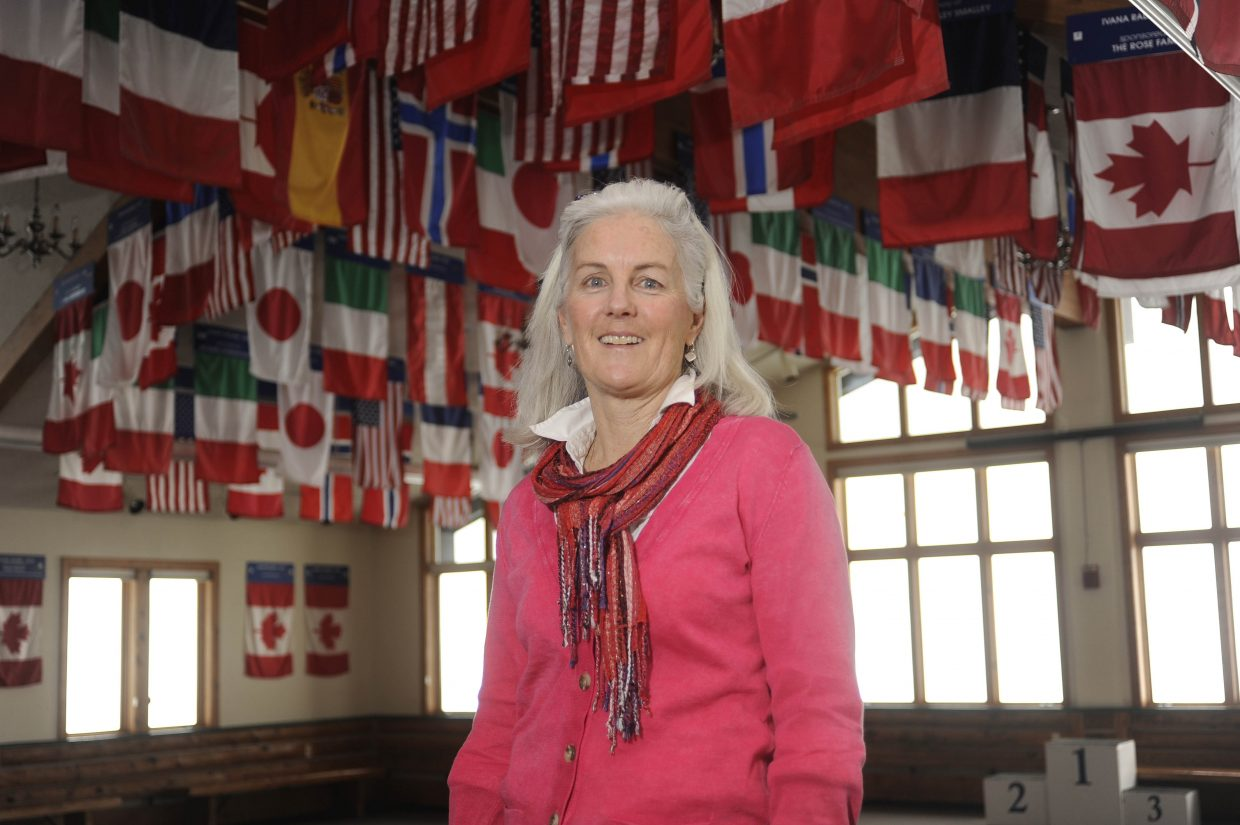 Sarah Floyd, director of athletics at the Steamboat Springs Winter Sports Club, will be honored Sunday as this year's recipient of the Hazie Werner Award for Excellence.