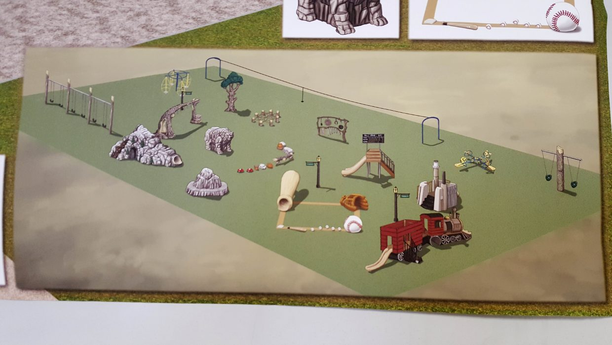 Hayden Parks and Recreation is trying to raise $150,000 to build a playground at Dry Creek Park.