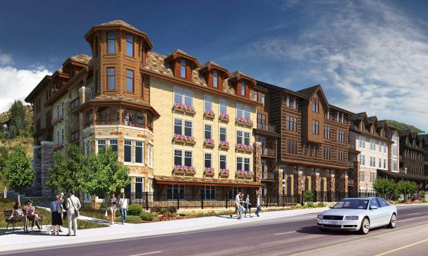 The Marriott Residence Inn in West Vail would have 170 hotel rooms. The rest of the building would have just more than 100 apartments, most of which would be deed restricted for workforce housing.