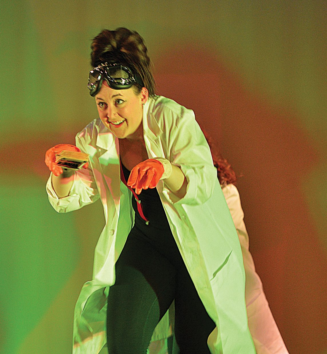 """Emma Simmins dances in """"Hypnotize"""" during a rehearsal for the 2015 Steamboat Dance Theatre's performance. This is the 43rd year for the show, which will have performances beginning at 7 p.m. Thursday through Saturday and a matinee at 12:30 p.m. Saturday."""