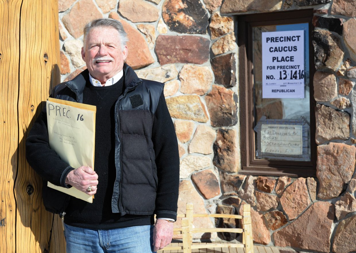 Chuck McConnell, former chairman and current member of Routt Country Republicans, was busy this week preparing for Tuesday's Republican precinct caucus. The caucus is set for 7 p.m. at various locations throughout the county.