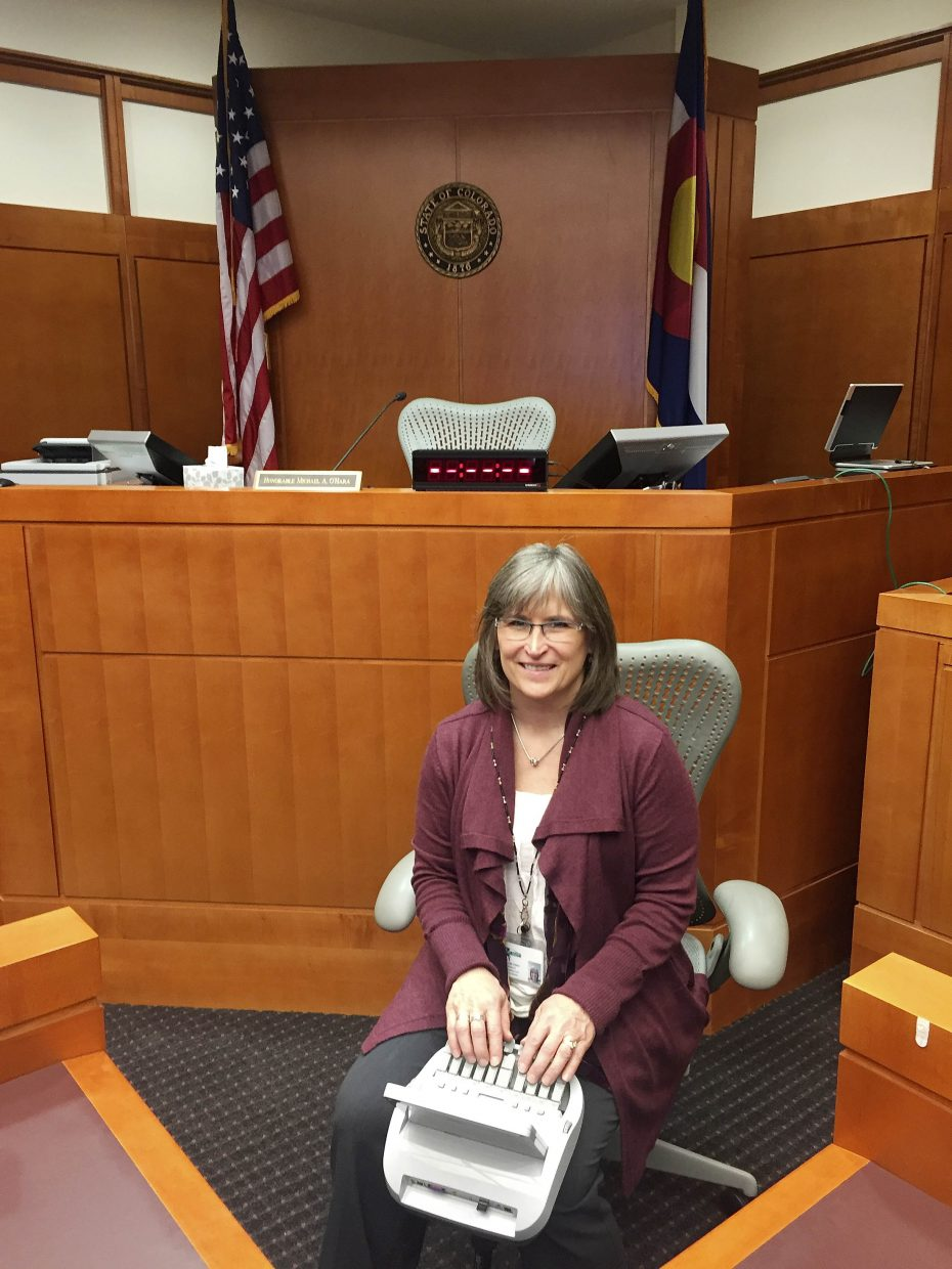 14th Judicial District court reporter Lynn VeDepo is retiring after a 35-year career.
