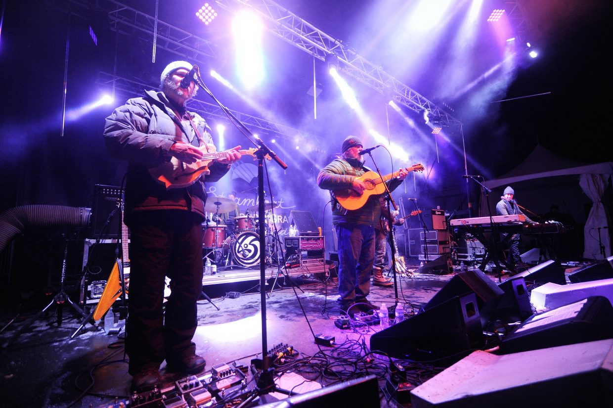 Leftover Salmon performed at the 2016 WinterWonderGrass in Steamboat Springs and they return to the 2017 line-up, which was announced Thursday.