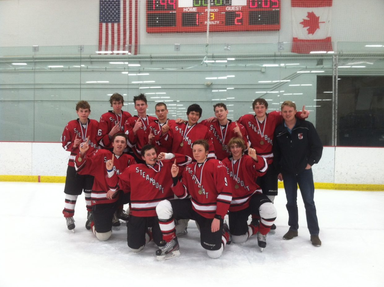 The Steamboat Springs Midget hockey team won the Mile High Meltdown tournament to take home gold during Presidents Day weekend.