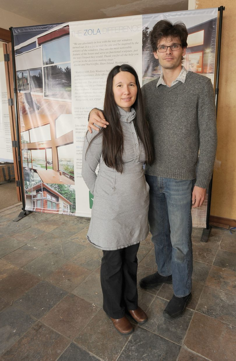 Florian Speier and Jessica Pfohl, owners of Zola Windows, are opening a showroom in Steamboat Springs.
