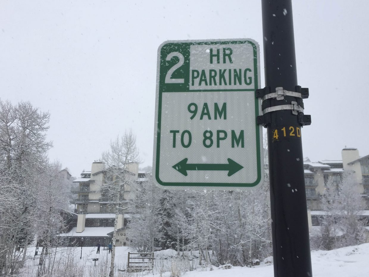 The city of Steamboat Springs has changed the parking rules for the Ski Time Square area.