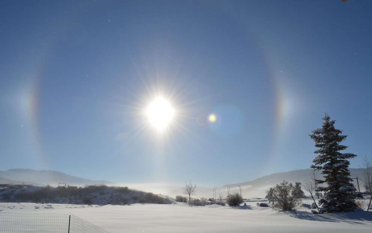 Sun dog. Submitted by: Krissy Small