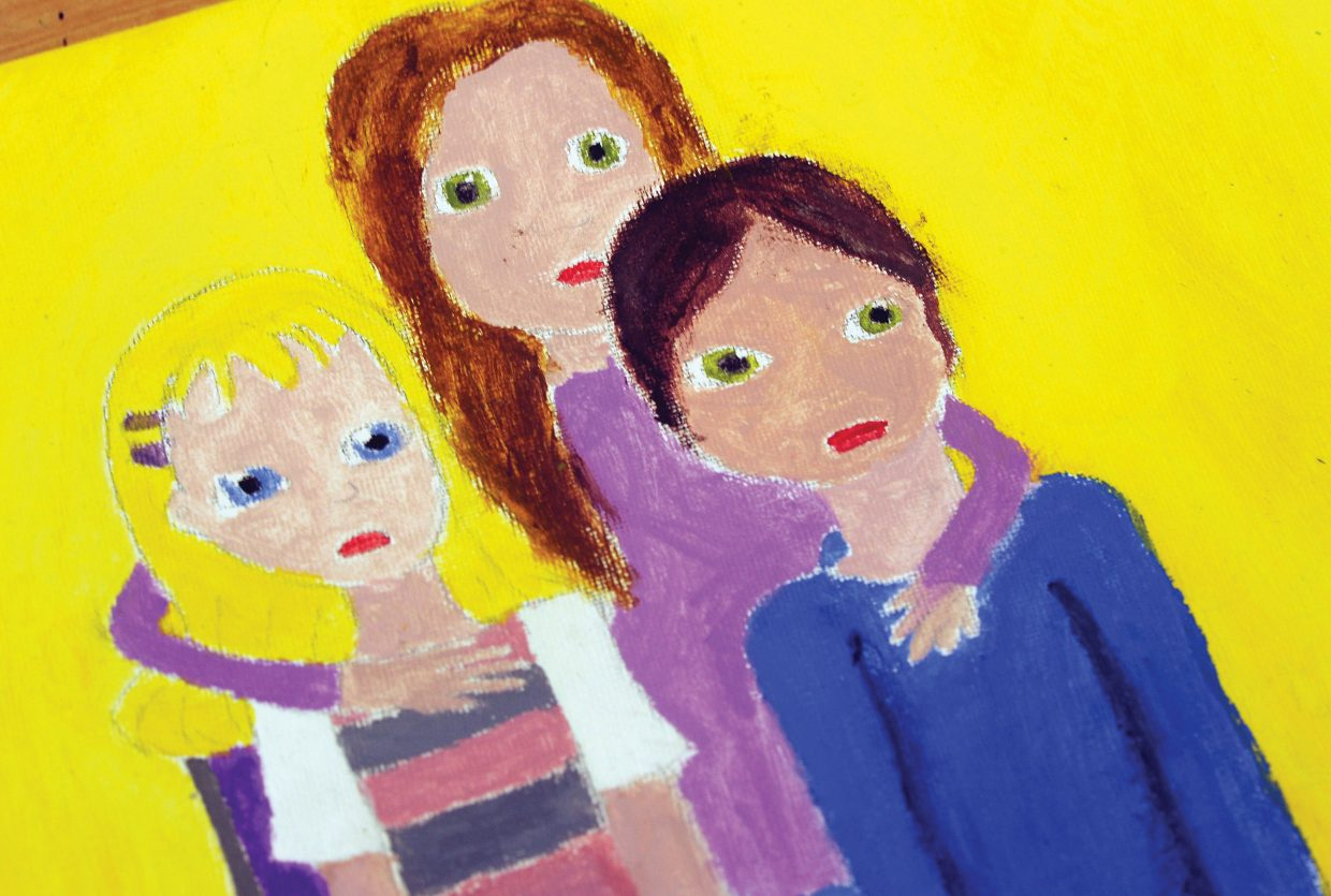 Illustrations for Trish Carpenter's next children's book created by students at The Lowell Whiteman School.