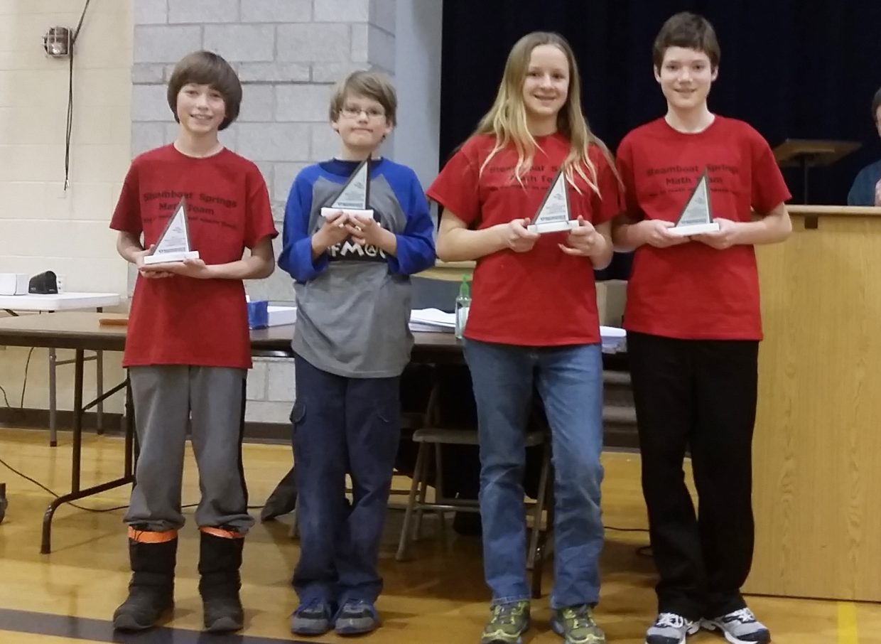 Among the top 10 scorers in the competition were SSMS students Shane Lambert in first, Jade Henderson in second, Indiana Kretzschmar in fourth and Morgan Graham in seventh.