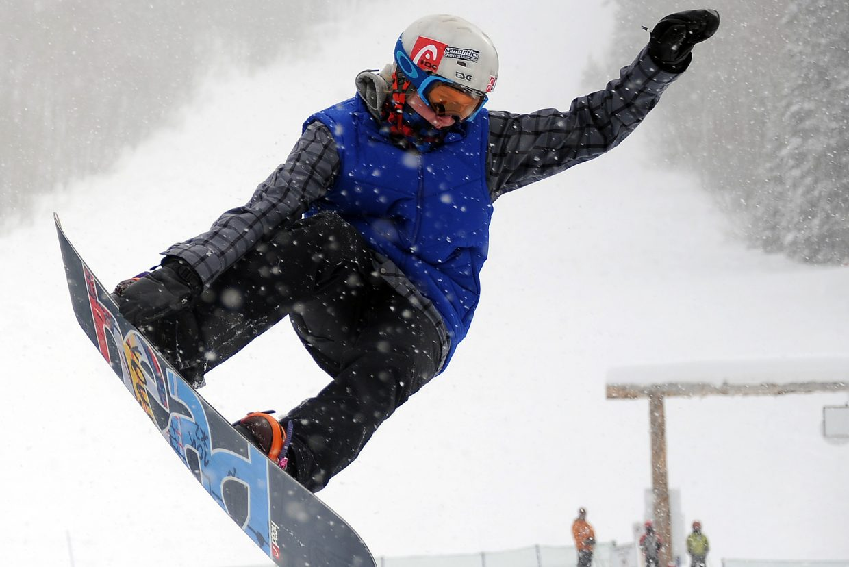 Snowboard cross rider Jarryd Hughes won his first World Cup on Saturday in Canada. The win puts Hughes in position to make the Olympic Games.