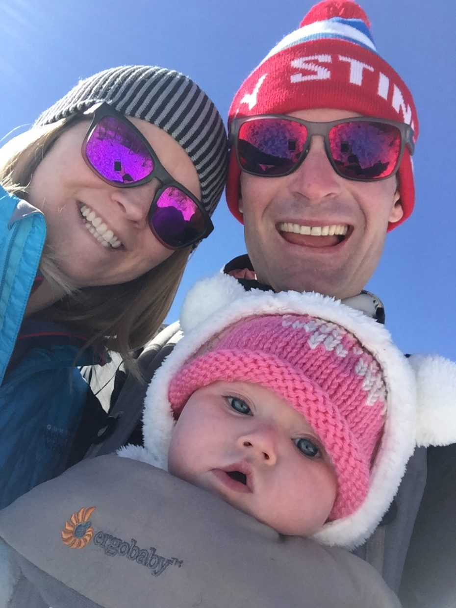 Nikki and Bryan Fletcher welcomed their first child last summer and went through all the emotions and life changes most parents deal with. One difference? Bryan, on the U.S. Nordic combined ski team, spent most of the last four months in Europe competing on the World Cup circuit.