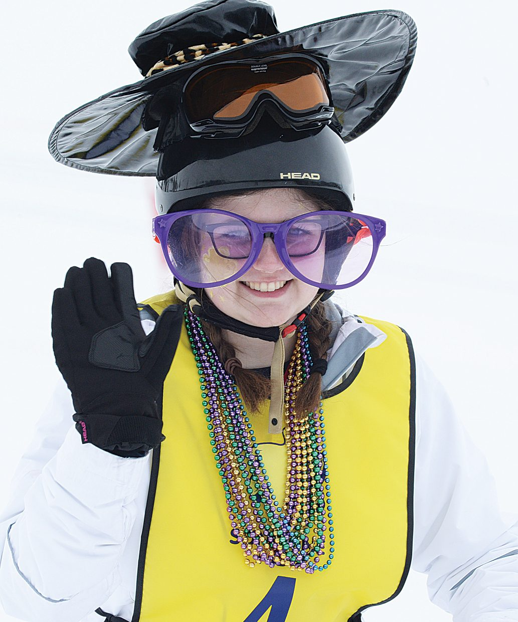 Sam Frank, of Boonton, New Jersey, was diagnosed with leukemia when she was e. Now 15, she is cancer-free and spent the past week learning to ski as part of the Sunshine Kids Foundation event in Steamboat Springs.