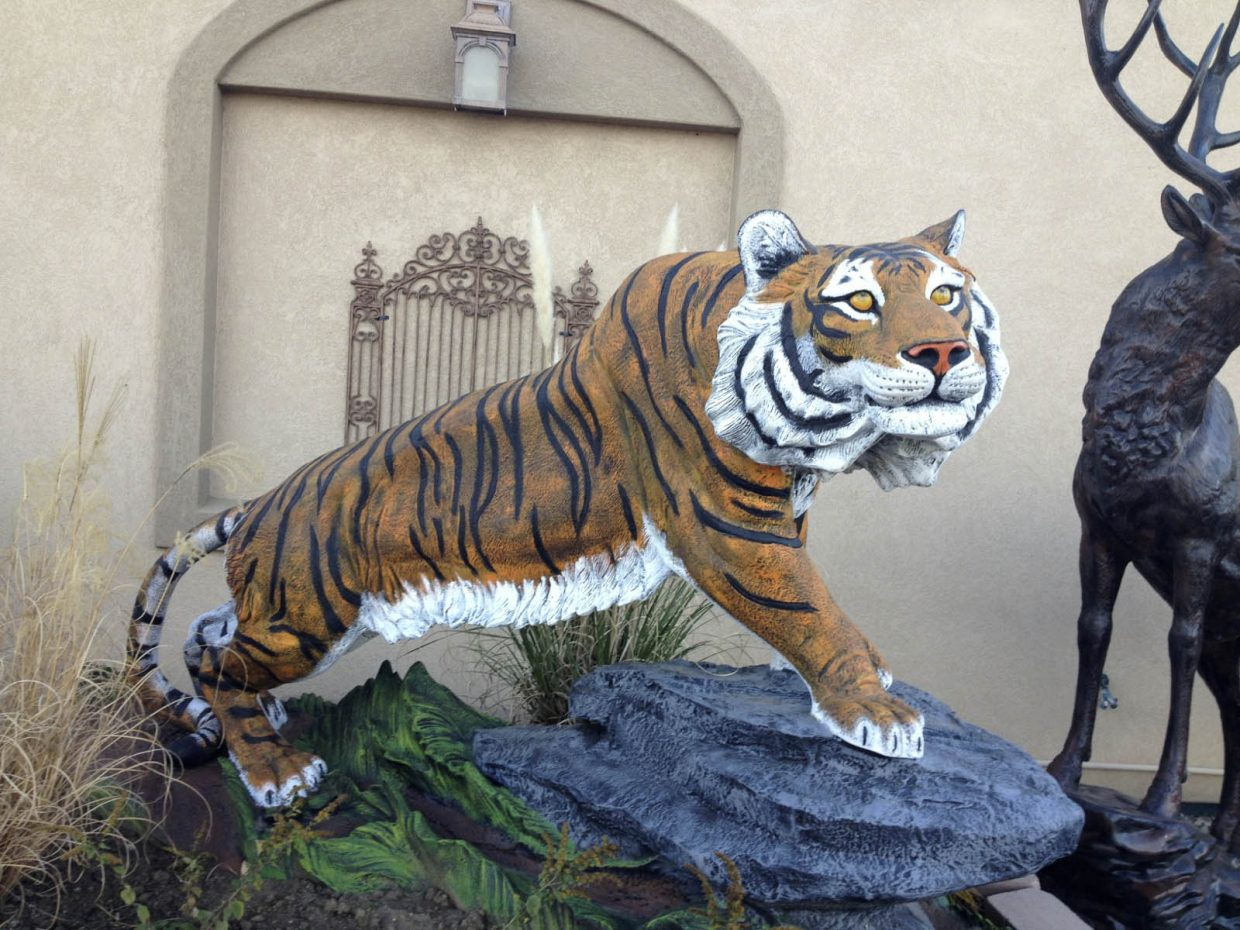 Hayden Valley Elementary School students want to raise the money for the tiger statue by the end of the school year.