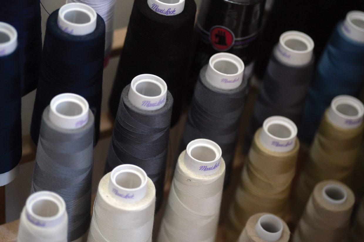 Spools of thread can be found almost everywhere you look inside Sew What. For 36 years the downtown store has been the place locals head to for clothing repairs and alterations.