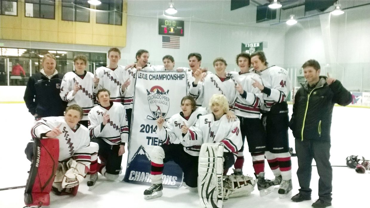 Steamboat's Midget hockey team won its state tournament last weekend. The squad finished its season 12-3-1.
