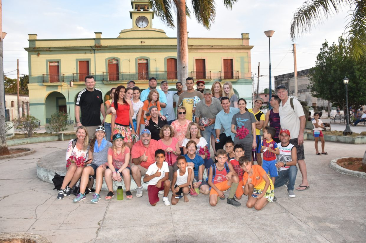 Steamboat Christian Center's Cuba mission team along with some of the residents of Cuba.