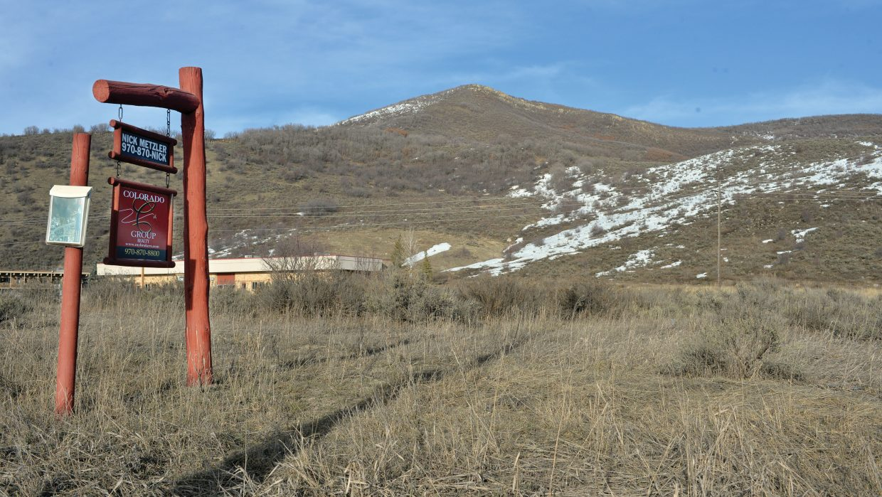 This property just off of U.S. Highway 40 next to the Steamboat Veterinary Hospital and Kamar Plaza is being considered for a new 64-apartment complex in Steamboat Springs.