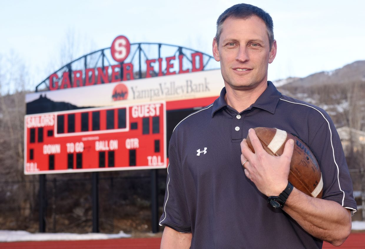 Shawn Baumgartner will step into the head coaching job for the Steamboat Springs football team after serving two years as an assistant. Prior to that he spent 12 years leading the Hayden High School program.