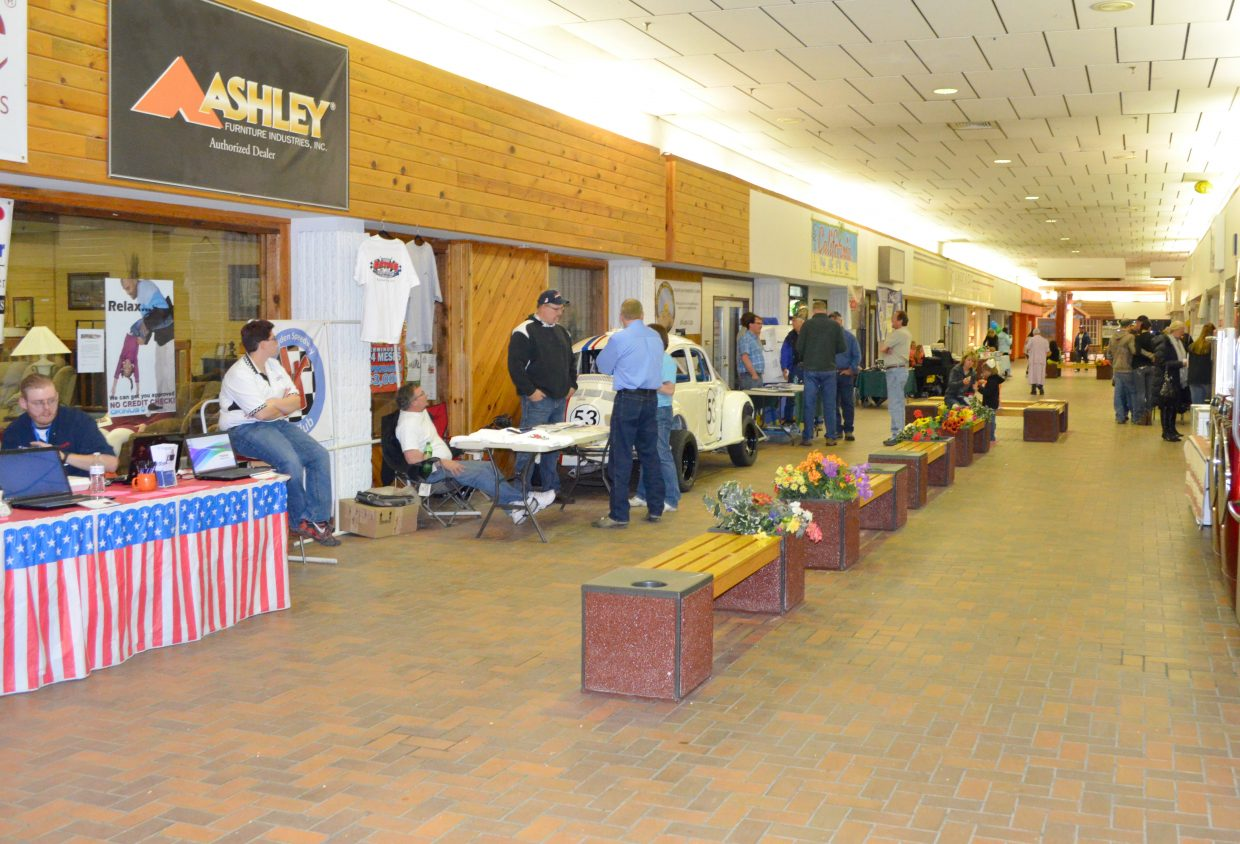 The KRAI & 55 Country Spring Expo had local businesses showing off their products, especially what's new in 2014, to members of the community at Centennial Mall on Saturday. The annual event attracted a crowd throughout the day.