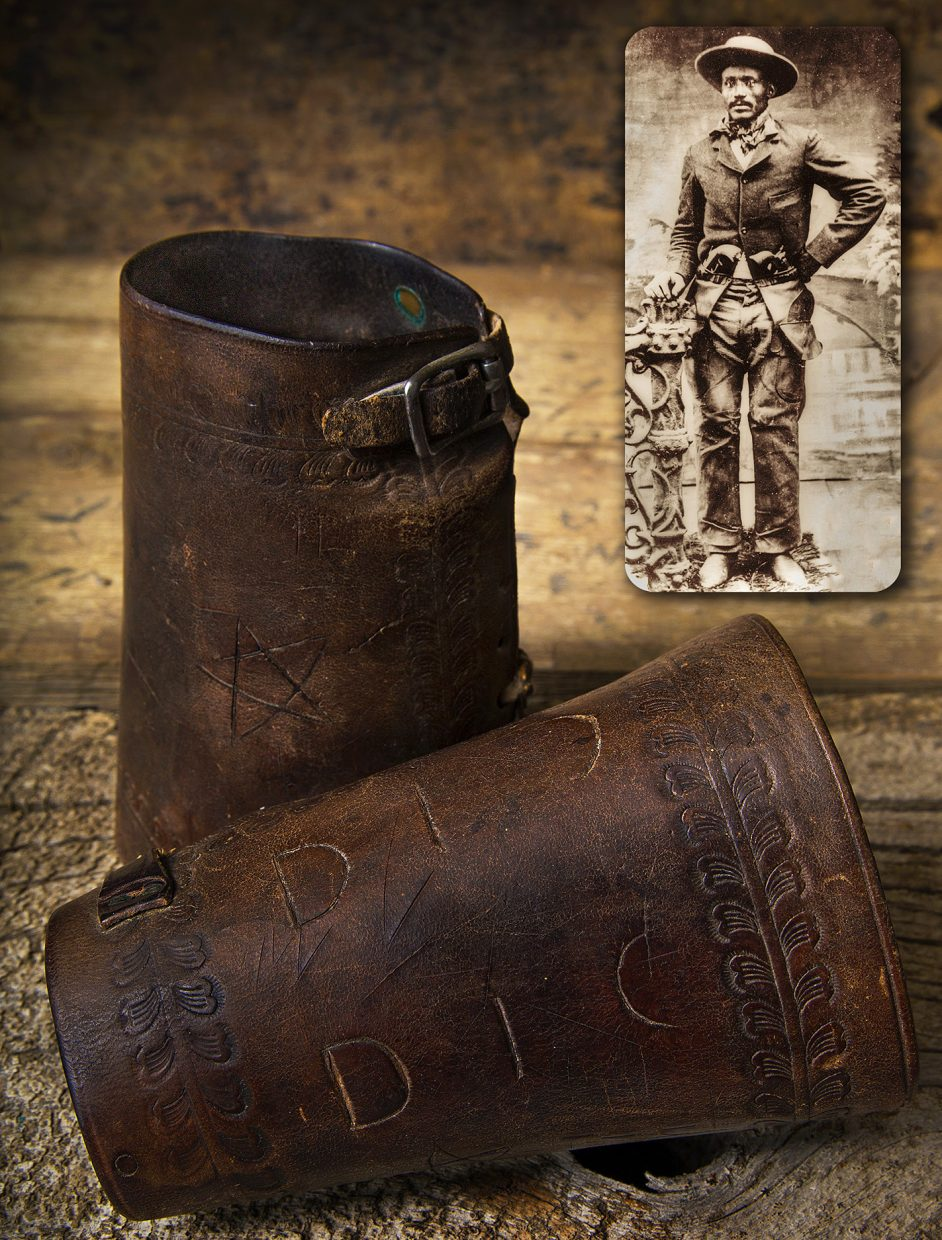 The Museum of Northwest Colorado has acquired the wrist cuffs determined to have been worn by Isom Dart at the moment when he was fatally shot on October 3, 1900.