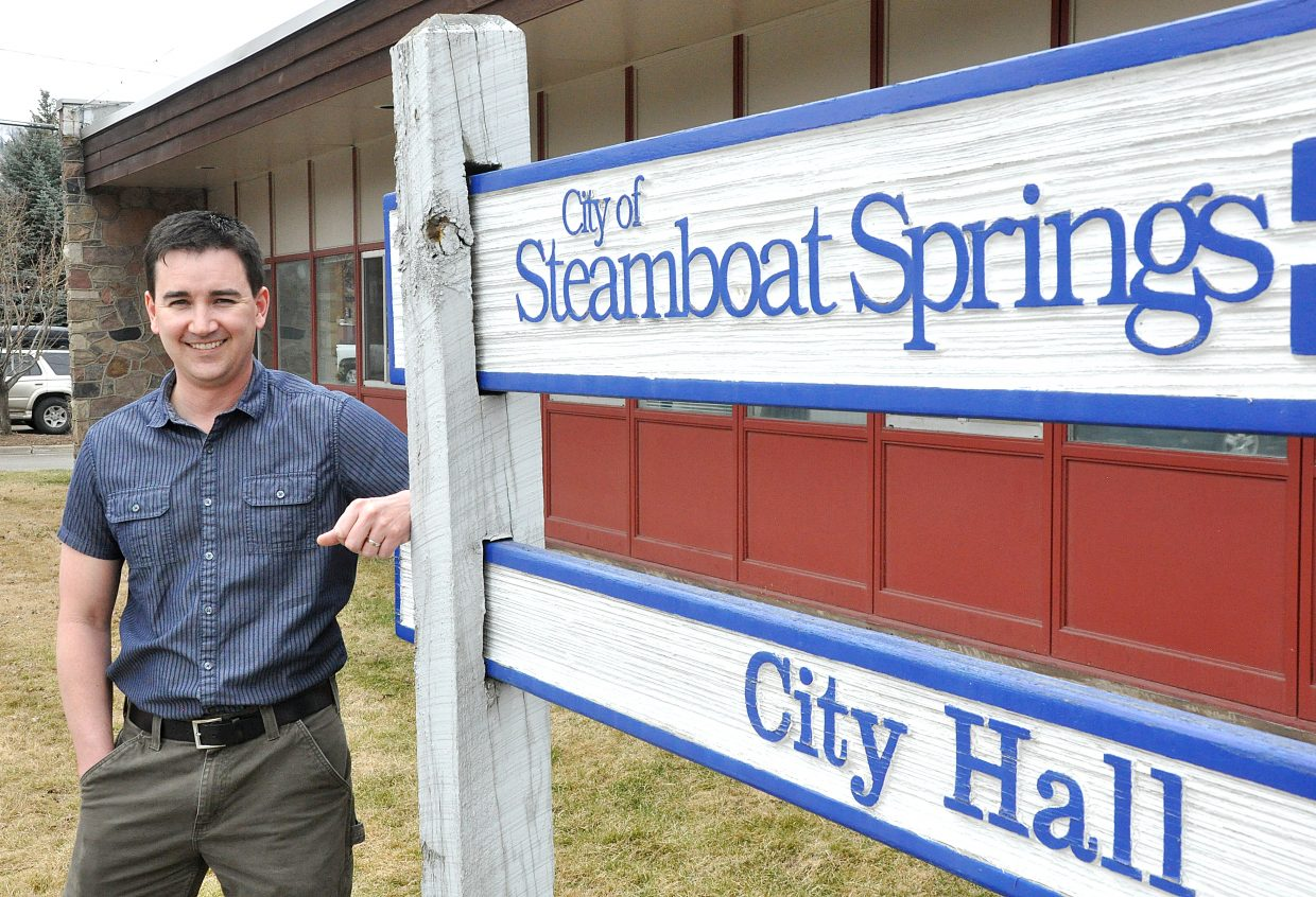 New public works director Jon Snyder has worked for the city of Steamboat Springs since 2005.