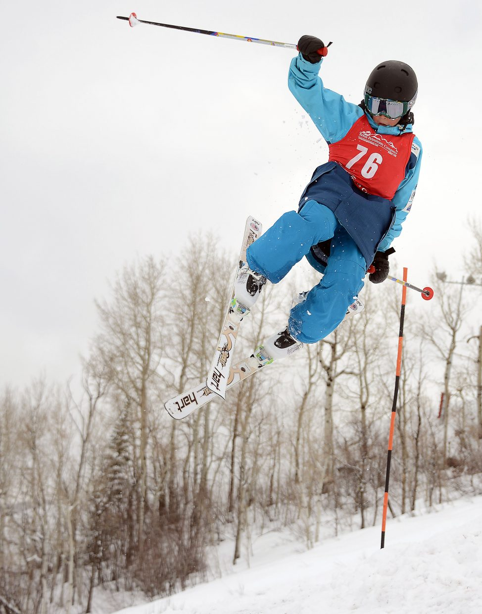 Winter Park's Alexa Mordini skis Saturday in a moguls event at Steamboat Ski Area.