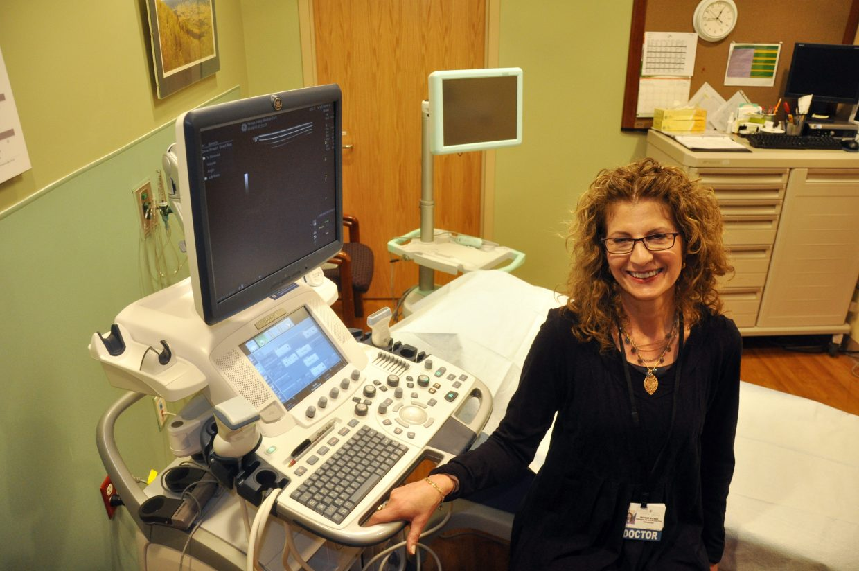 Terese Kaske is the director of the new Gloria Gossard Breast Health Center at Yampa Valley Medical Center. The health center features technology that will make it easier for patients to receive breast care here in the Yampa Valley.