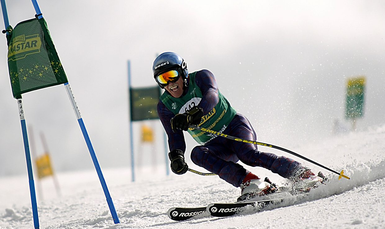 Steamboat Springs skier Pete Wither has been racing in Steamboat Springs his whole life. He said he's eager to do it again this week as the NASTAR National Championships descend on Steamboat Ski Area.