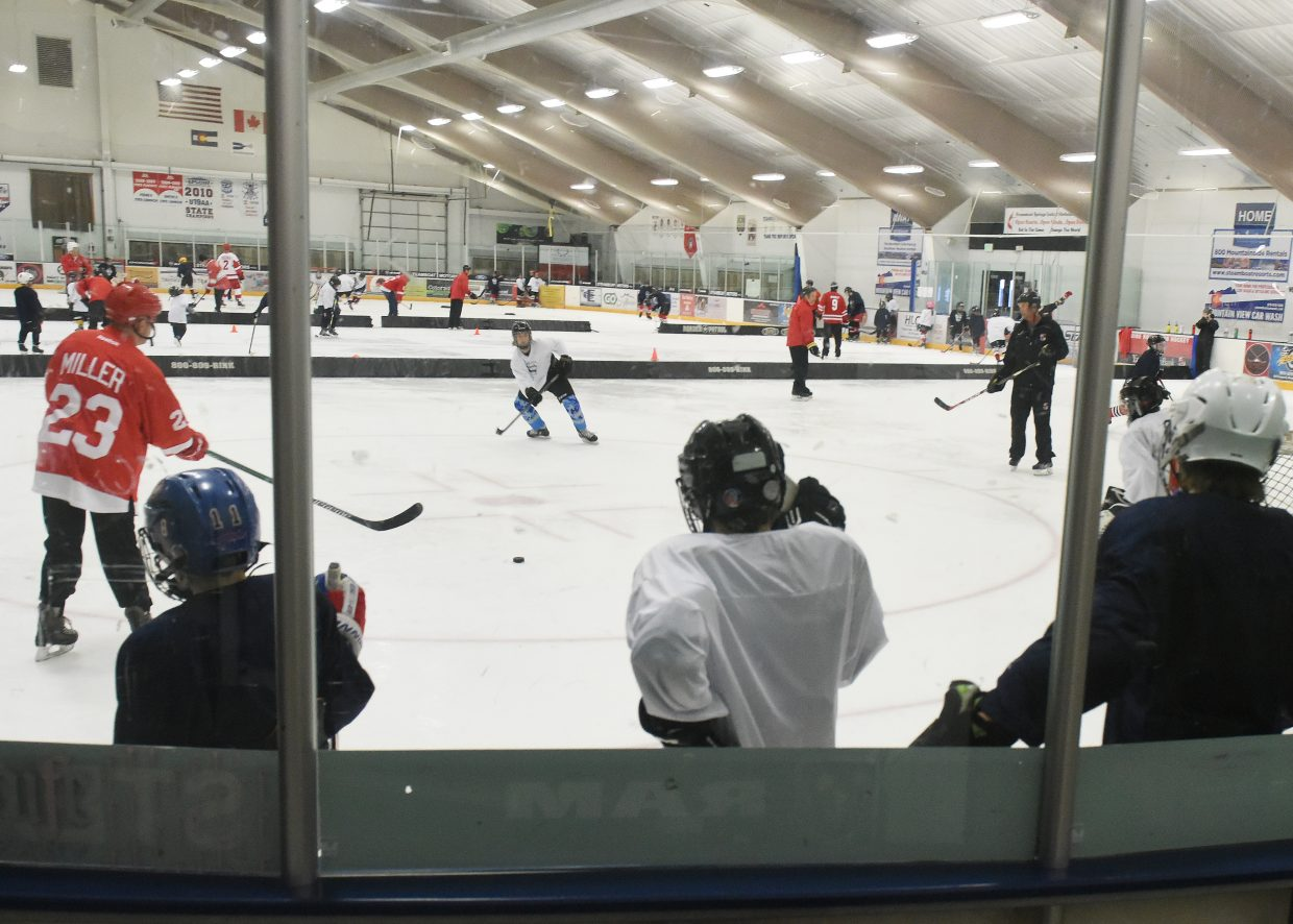 More than a dozen former National Hockey League players take the ice with scores of young Steamboat Springs hockey players on Friday afternoon during the Steamboat Hockey Classic. The event raises funds for youth hockey in Steamboat Springs. Saturday's schedule includes a clinic for girls in the morning, then, at 7 p.m. at Howelsen Ice Arena, a game among the NHL alums.