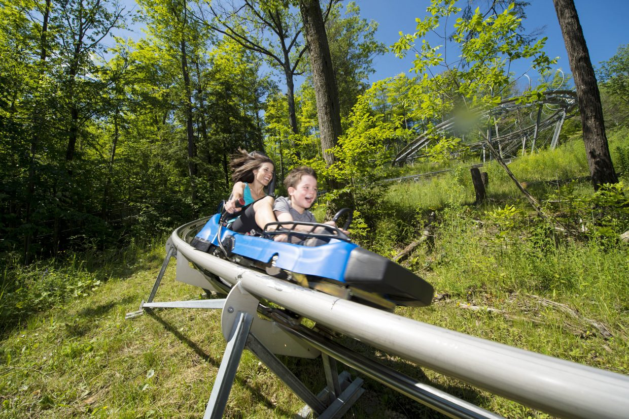 Steamboat Ski Area sibling in the Intrawest family of resorts, Blue Mountain, Ontario, already has the Ridge Runner mountain coaster, similar to the one planned for construction at Steamboat this summer. Riders control the speed up to 26 miles per hour.