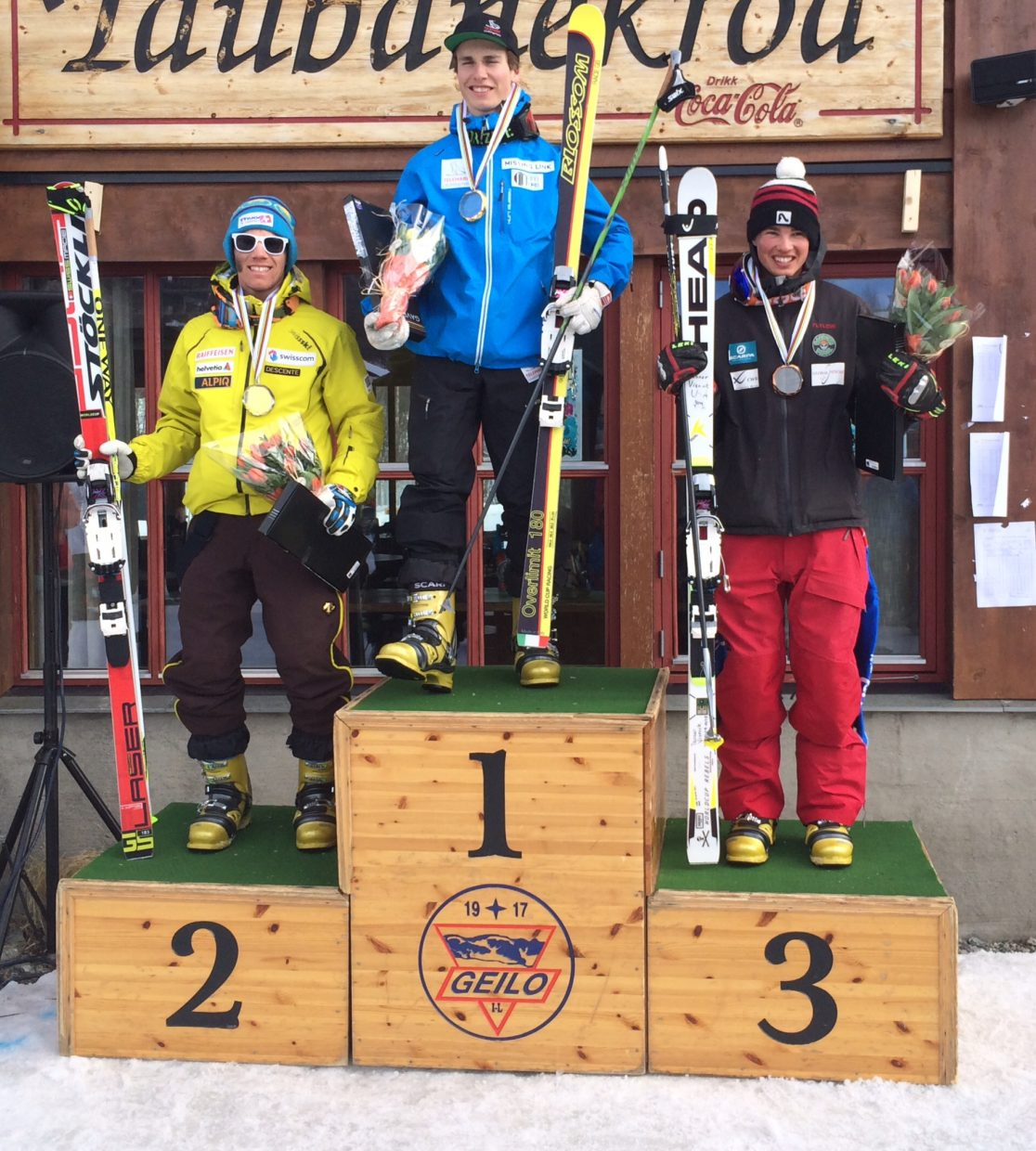 Steamboat Springs skier Tanner Visnick placed third at the FIS Telemark World Junior Championships in Geilo, Norway.