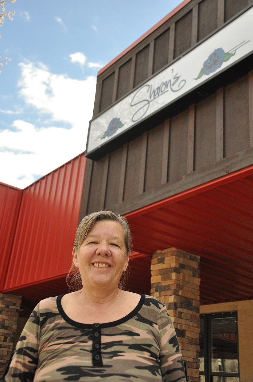 Sharon Stone used to run Sharon's in West Steamboat from 1988 to 1996.