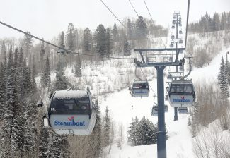 Steamboat Resort closes base area to uphill access during spring gondola construction