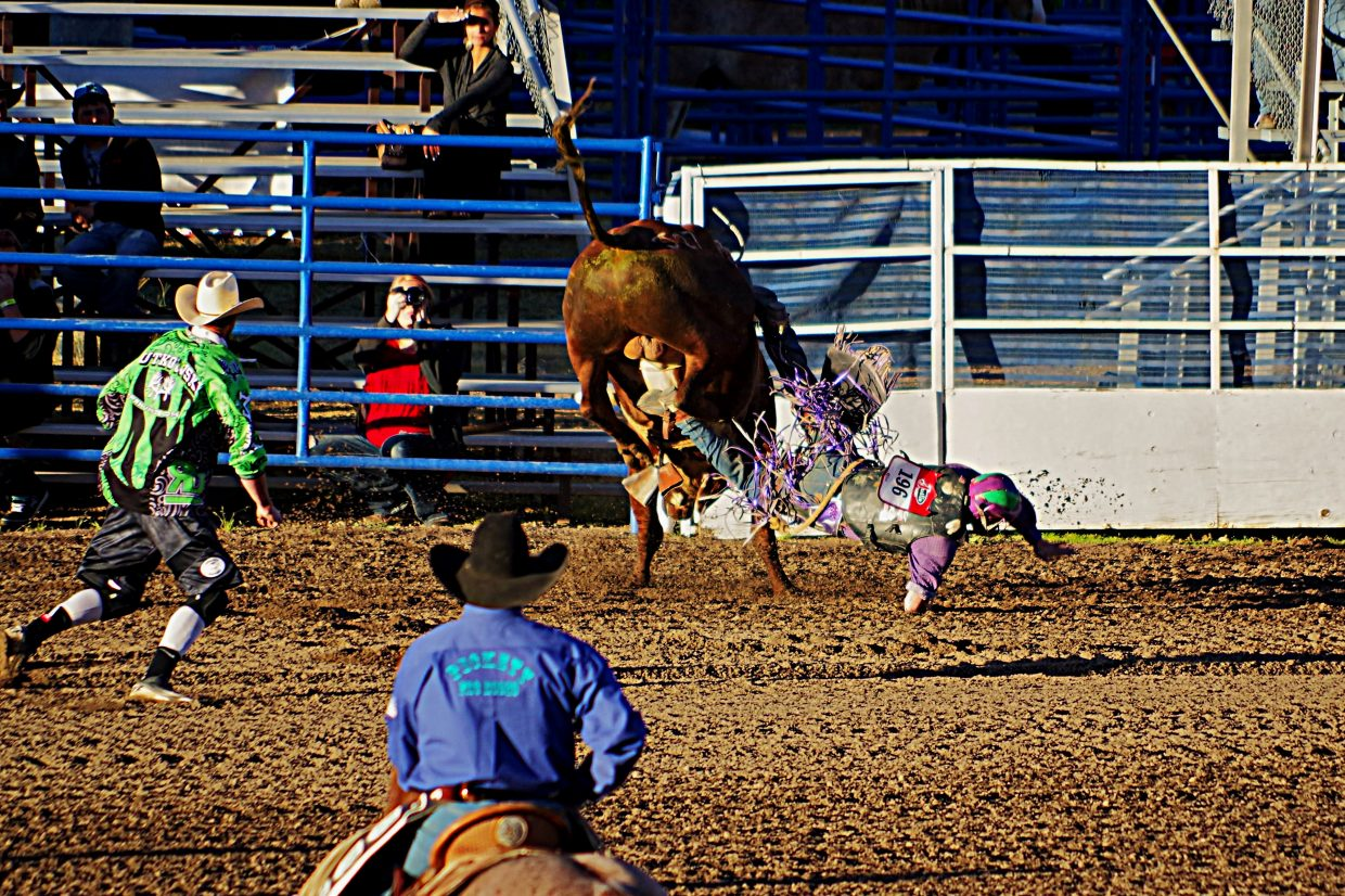 Saturday night's rodeo. Submitted by: Matt Helm
