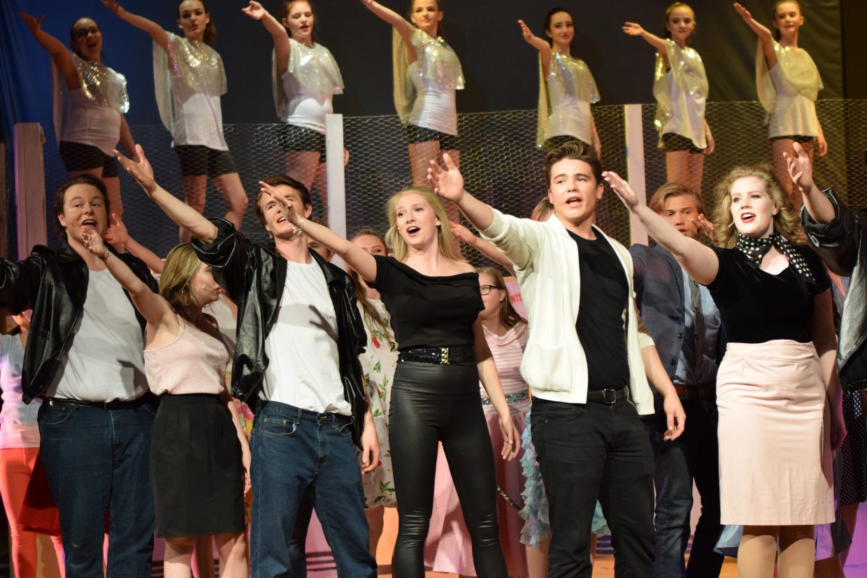 The final two performances of Grease are 6 p.m. Friday and Saturday at Steamboat Springs High School.