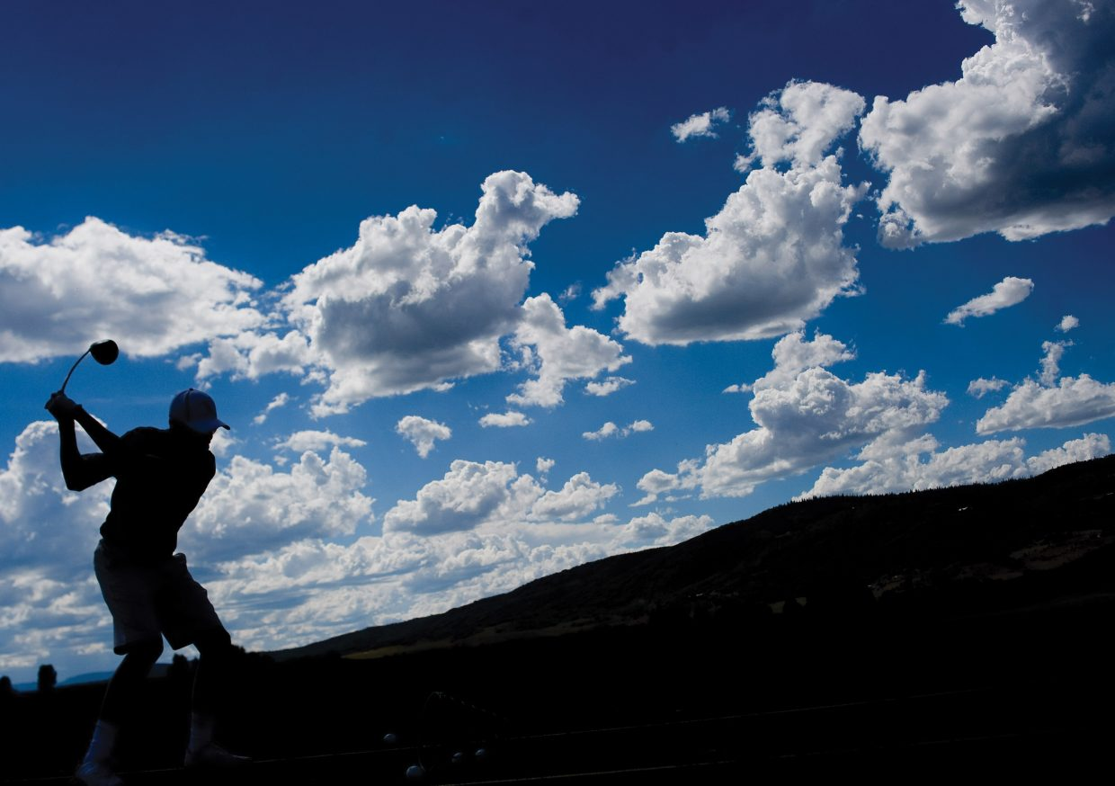 There is still plenty of snow east of Steamboat Springs, but season passes went on sale Tuesday at Haymaker Golf Course, reminding us all that summer is just around the corner.