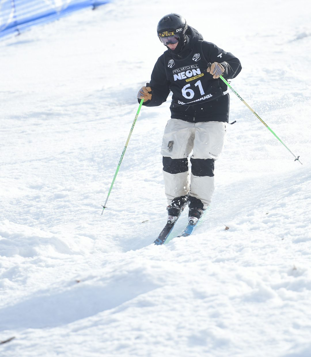 Brad Hoefer skis Friday in the U.S. Freestyle National Championships in Steamboat Springs.
