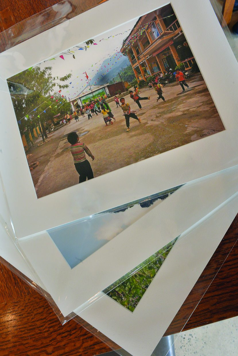 Photographer Kate Burke's images of Asia will be on display at the offices of Colorado Group Reality this month.