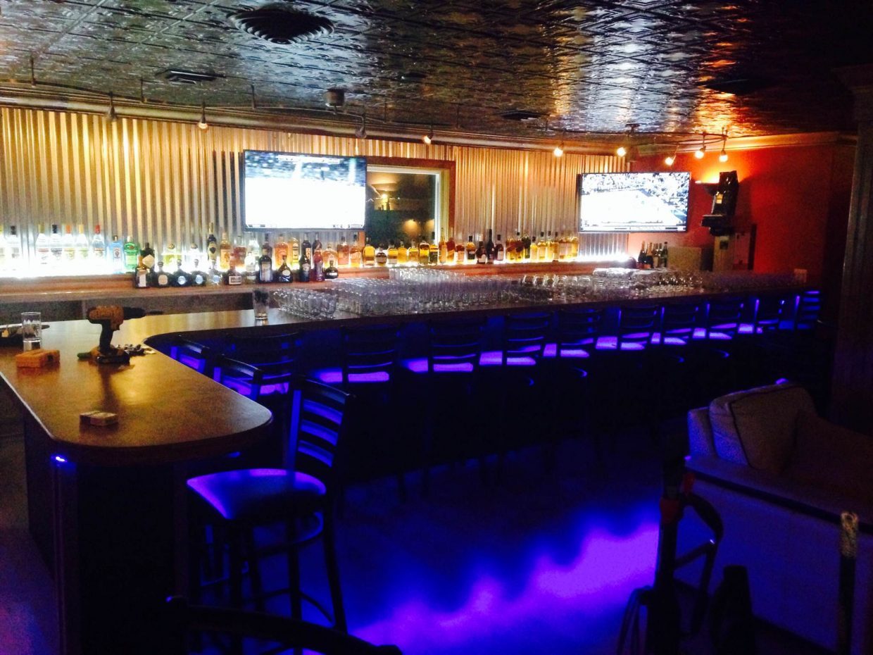The new bar at Back Door is one of several additions to the local restaurant scene.
