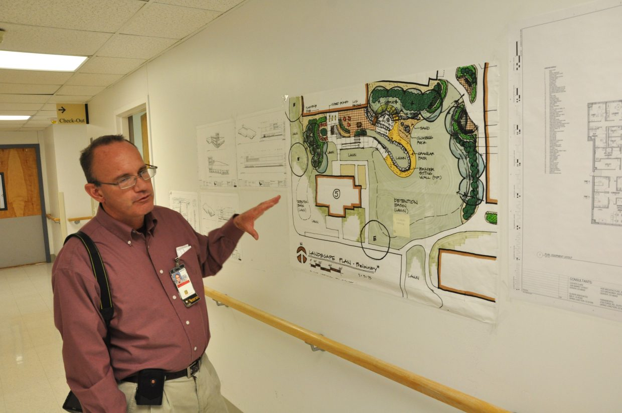 Paul Sweeney, customer relations chief for the Grand Junction VA Medical Center, explains the plans for future renovations and expansions. When he started working for the hospital in 2007, it had around 300 employees. Today, it has around 700.