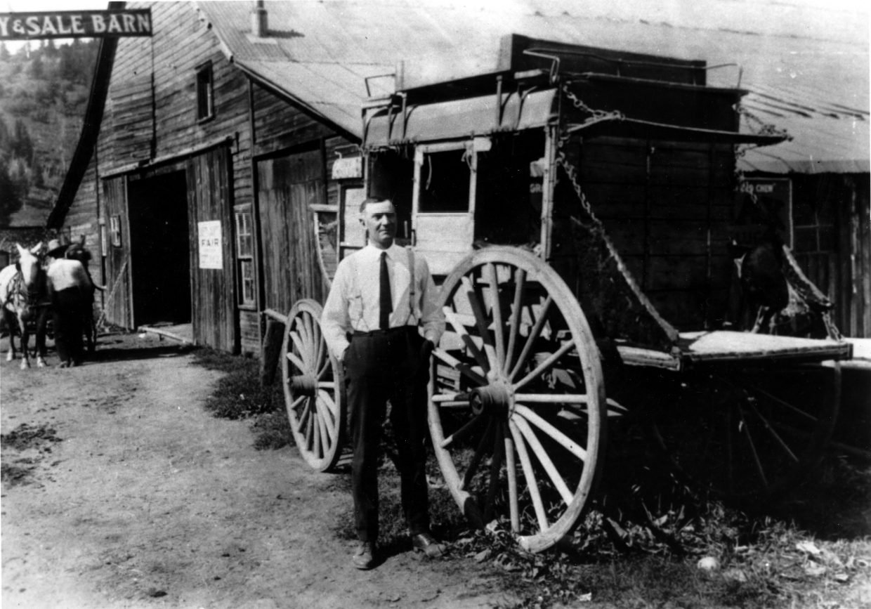 """Charles H. Leckenby, longtime editor and publisher of the Steamboat Pilot and author of """"The Tread of Pioneers."""""""