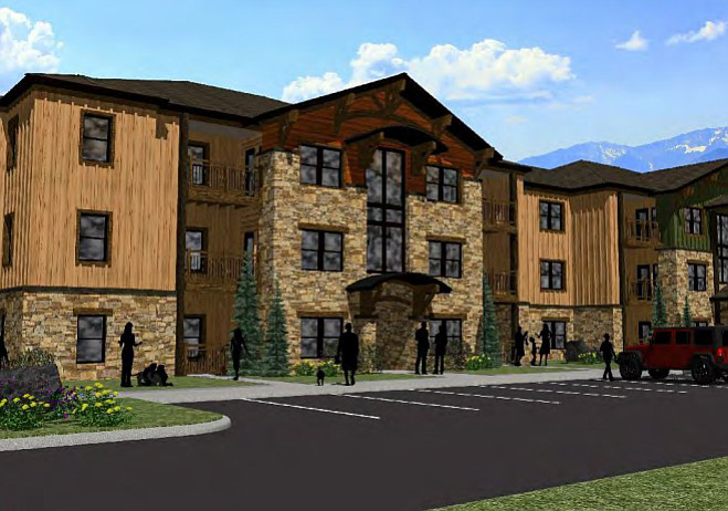 The first residents of the 48-unit Reserves at Steamboat affordable apartment building, all of who have household incomes 60 percent or less of median here, began moving into their new homes in August.