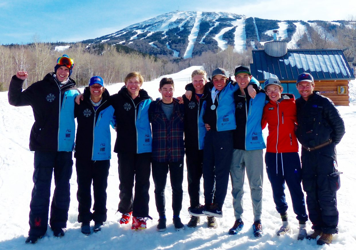 The Steamboat Springs Winter Sports Club sent its top U16 skiers to nationals in Maine last week.