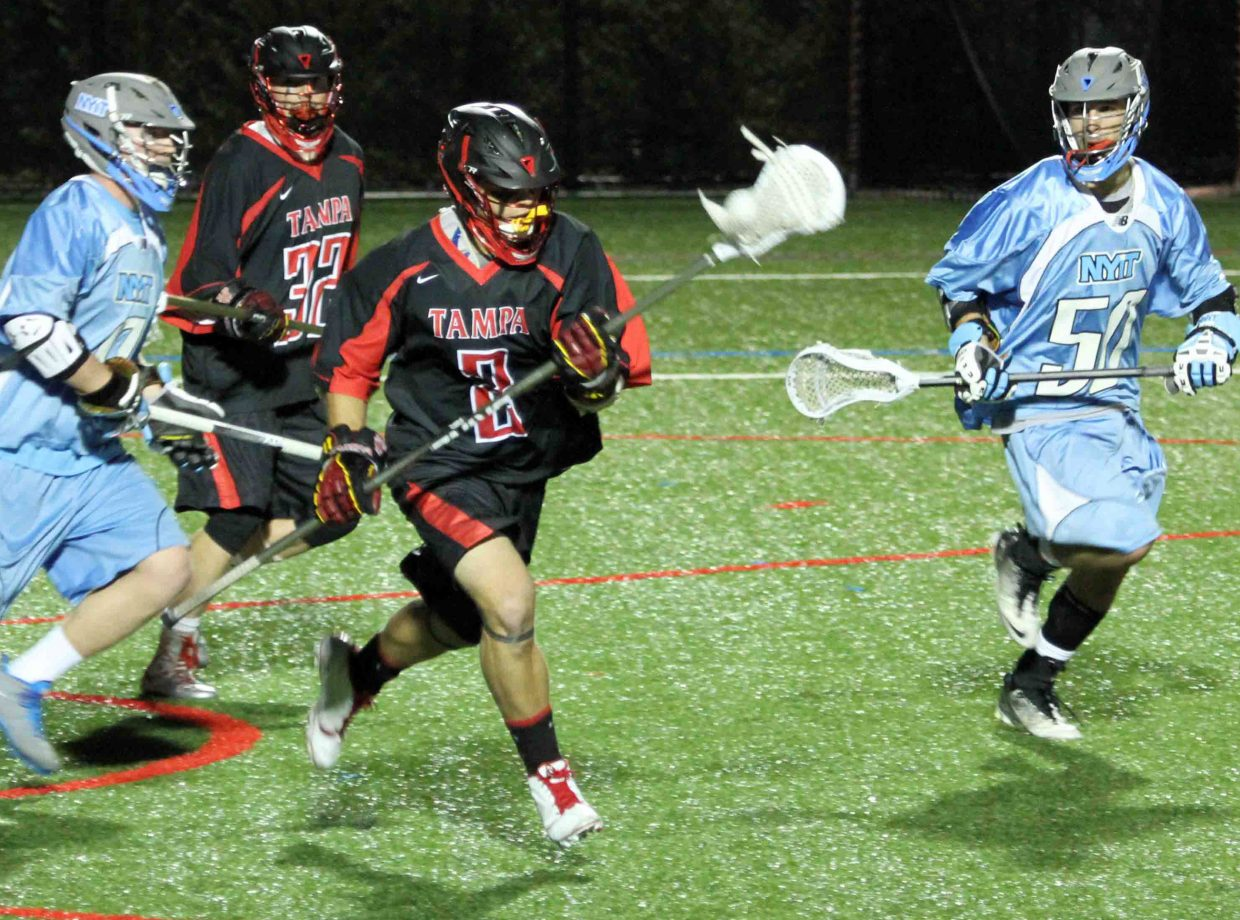 Steamboat Springs High School graduate Jasper Gantick is a senior captain with the University of Tampa lacrosse team. The Spartans currently are ranked No. 6 in the nation and looking forward to what they hope is a long run through the NCAA tournament.