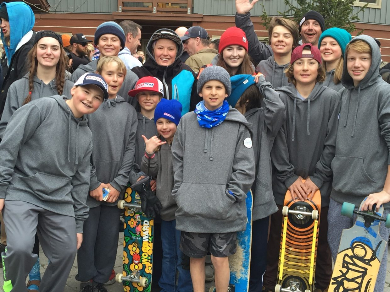 The Steamboat Springs Winter Sports Club snowboard team accounted for nine podium finishes at the USASA national championships at Copper Mountain.