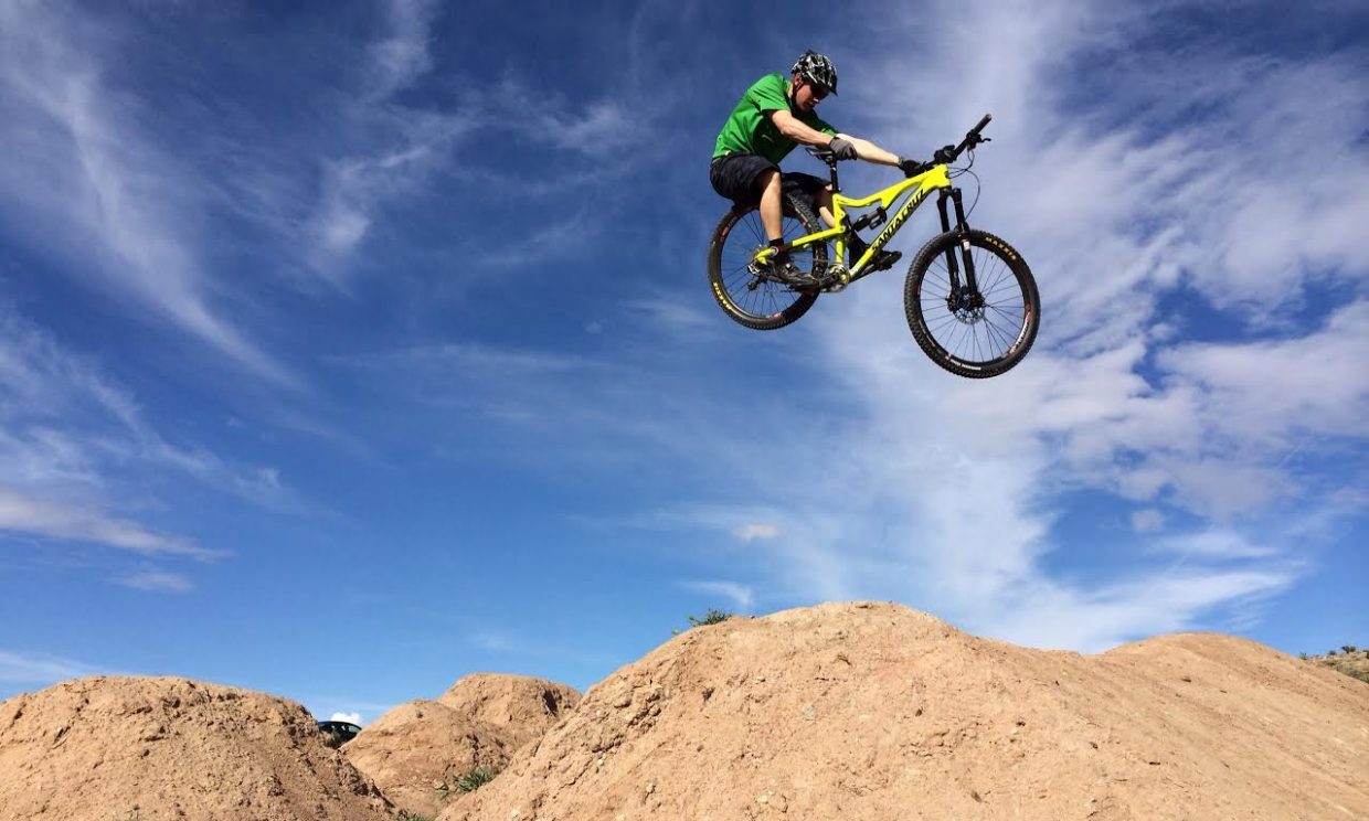 Trevyn Newpher has been named the new Steamboat Bike Park manager. Last year, he worked as a supervisor with Steamboat Ski Area's first-year Steamboat Bike School.